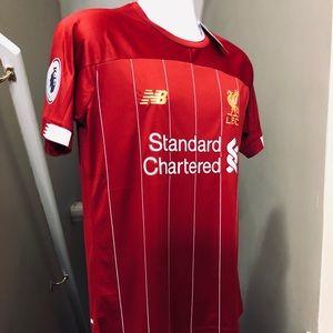 best loved dbb62 52069 🔥 2019 Liverpool Virgil van Dijk #4 Soccer Jersey NWT